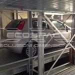 Car lift, car park elevator, automatic car parking, waste collection, goods and car custom lifting platforms - Ecospace srl // 19_1415349098