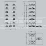 VPM vertical parking - Parking automatic and mechanized vertical, vertical car parking system - ECOSPACE Dimensional Solutions // 1_1345796368