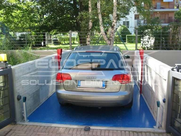 Car parking lift for private apartment building