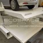 Car lift, car park elevator, automatic car parking, waste collection, goods and car custom lifting platforms - Ecospace srl // 1_1457618274