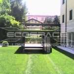 Parking for cars garden with hat, car lifts for private garden with a hat - ECOSPACE Dimensional Solutions // 2_1345709155