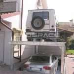 Lift for cars with elevation electro-hydraulic, electro-hydraulic lift with elevation - ECOSPACE Dimensional Solutions // 2_1345709444