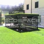 Parking for cars garden with hat, car lifts for private garden with a hat - ECOSPACE Dimensional Solutions // 3_1345709155