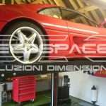 Pluto car lifts, hoists, lift car, car deck - ECOSPACE Dimensional Solutions // Plutone