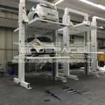 Car lift, car park elevator, automatic car parking, waste collection, goods and car custom lifting platforms - Ecospace srl // IMG_0325_low