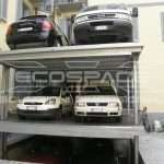 Four-column personalized lift for 6 cars // OLYMPUS DIGITAL CAMERA