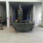 Car lift, car park elevator, automatic car parking, waste collection, goods and car custom lifting platforms - Ecospace srl // saturno-cargo-5
